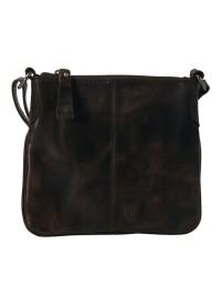Black Colour Lille Læder Taske