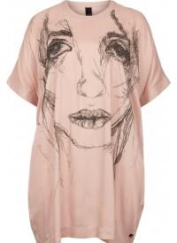 Adia Oversize Kjole Med Print