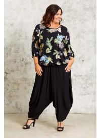 Gozzip Bluse Med Print
