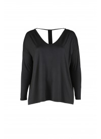 My Little Curvy Love bluse med bar ryg