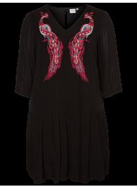 Junarose kjole Med Broderi