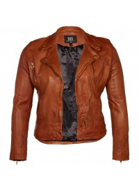 MOLLY LEATHER JACKET fra Zoey