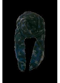 Black Colour CAMO tørklæde navy