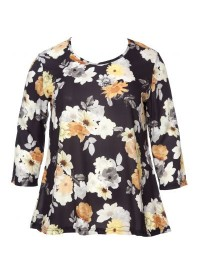No 1 By Ox blouse with flower print