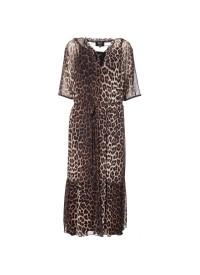 No 1 By Ox long leopard dress
