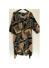 No 1 By Ox long chain kimono