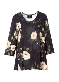 c97bfff5 No 1 By Ox Blouse with flower print and 3/4 sleeve