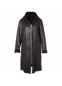No 1 By Ox  Long coat with hood