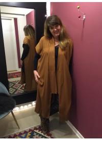 MAT lang kimono uden ærmer