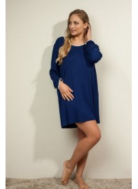 Plaisir Bamboo Dark blue F2720-2 Nightdress/Big shirt