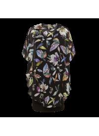 Q'neel mønstret kjole