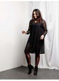 Smuk sort kjole fra Que
