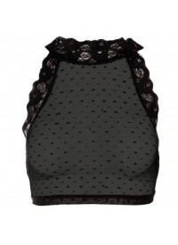 Dot Lace Top fra Zoey