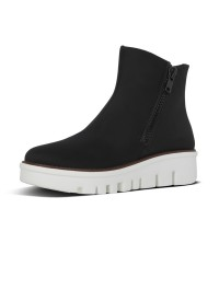 FitFlop CHUNKY ZIP ANKLE BOOT - Black