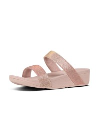 FitFlop LOTTIE GLITZY SLIDE – Rose Gold
