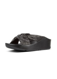 Fitflop TWISS CRYSTAL SLIDE - Black