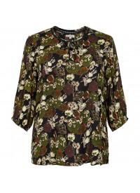 Gozzip Bluse i smukke efterårsfarver