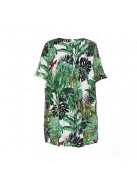Gozzip tunic skjorte med palmeblade
