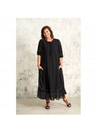 Gozzip lang sort kjole