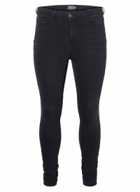 JRFIVE BLACK SHAPE JEANS