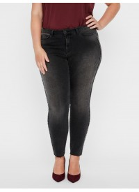 JRFIVE DARK GREY ANCLE JEANS