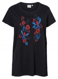 Junarose JRFLOWER BONJOUR T-shirt