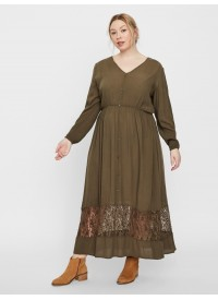 Junarose JRMARTHA LS ANKLE DRESS