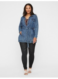 Junarose JRAYLIN LS MB DENIM JACKET - K