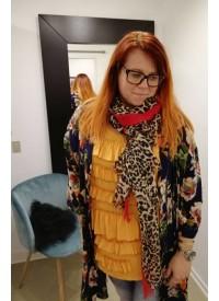 NØR Orange Bluse