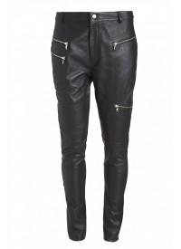 Cool sorte Skind Bukser fra Nør