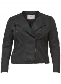 Only Carmakoma CARAVANA FAUX LEATHER BIKER ESS