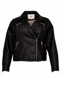 Only Carmakoma Emma faux leather biker