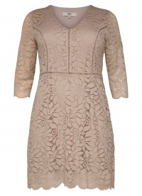 Only Carmakoma CARSAMANT 3/4 LACE DRESS