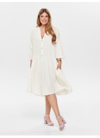 Only Carmakoma CARMIRA 3/4 SHIRT DRESS
