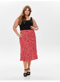 Only Carmakoma CARKINEA HIGH WAISTED SKIRT ABOVE CALF
