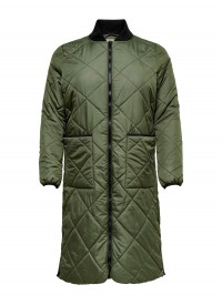 Only Carmakoma CARCARROT LONG QUILTED JACKET